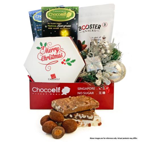 Chocoelf Christmas Gift Tray
